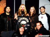 Greg with Zack Wylde and MTV2 crew