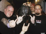 Greg Kaplan with Cory Taylor of Slipknot, Iann Robinson and Jason Diamond