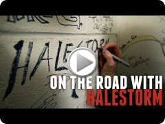 On The Road With Halestorm