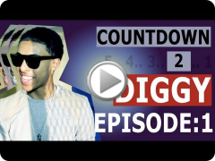 "Diggy: Countdown to Diggy: Filming the ""88"" Music Video [Episode 1/7]"